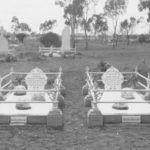 Graves of William O'Connell and John Willis at the Kalgoorlie Cemetery