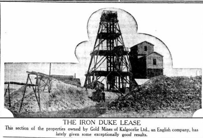 Tragedy at the Iron Duke – by David McMillan