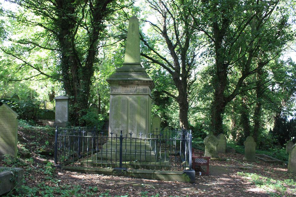 Hartley Pit Disaster Memorial - Earsdon Churchyard